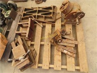 drill press Parts, punches, casters and