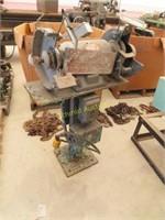 Dayton bench grinder on stand model number 32144