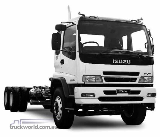 Isuzu FVY240-300 Agitator Cab Chassis
