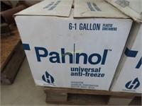 case Pahnol Universal antifreeze 6 1 gallon