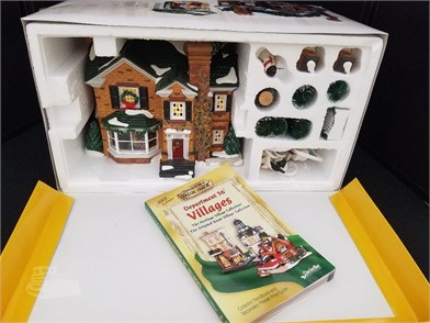 Dept 56 2000 Holly Lane Snow Village Gift Set Other Items