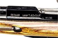 Gun Tula 91/30 Bolt Action Rifle in 7.62x54R