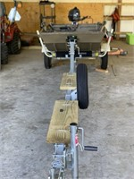 YAMAHA G3 10FT BOAT W/ 4 STOKE MOTOR & TRAILER,