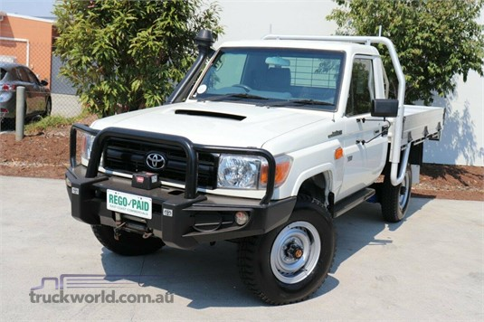 2013 Toyota Landcruiser Vdj79r MY13 Workmate - Light Commercial for Sale