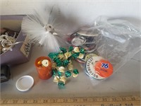 Pins/ Buttons/ Jewelry/ Costume Jewelry