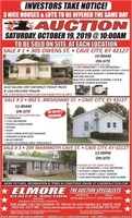 3 NICE HOMES, OFFERED IN 1 DAY - CRUMPTON ESTATE