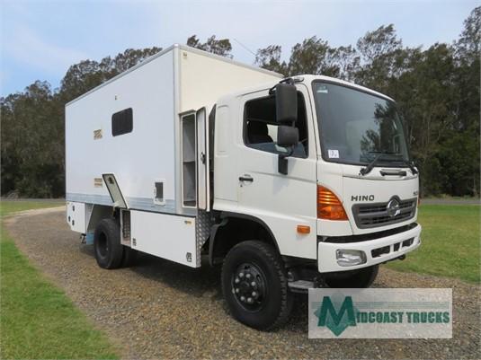 2011 Hino 500 Series 1322 GT 4x4 Midcoast Trucks - Trucks for Sale