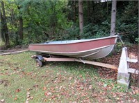 Sterling 14' Boat 1408 - Short Notice Online Only Oct 11th