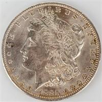 Coin 1885-O  Morgan Silver Dollar Almost Unc.