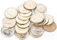 Coin 20 Kennedy 40% Silver Half Dollars