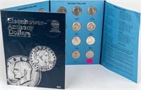 Coin Eisenhower & SBA  Dollar Set in Binder