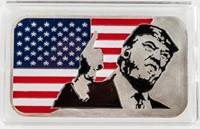Coin Colorized Donald Trump 1 Oz Silver
