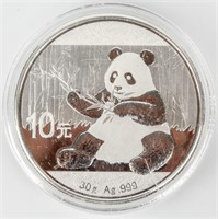 Coin 2017 Chinese Panda 1Oz. .999 Silver