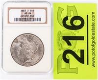 Coin 1883-O Morgan Silver Dollar NGC MS64