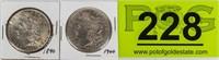 Coin 2 Morgan Silver Dollars 1890 & 1900