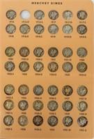 Coin Partial Mercury Dime Collection  77 Pcs