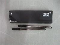 Montblanc Rollerball Refills (F) Mystery Black