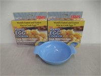 (2) Rapid Brands B01AGZD4RY Rapid Egg Cooker, One