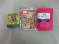 Lot of (3) Various Craft/office Supplies