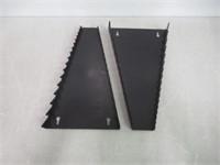 (2) Ernst Manufacturing Standard Wrench Organizer,
