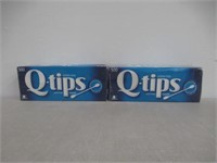 (2) Q-tips Cotton Swabs Original 500 Count