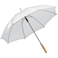 (2) Automatic Walking Stick White Umbrella with