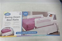 Regalo Swing Down Double Sided Bed Rail Guard,