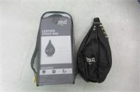 Everlast Leather Speed Bag
