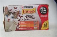 24-Pk Purina Friskies Gravy Pleasures, 24-Pk 156g