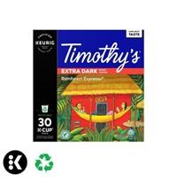 Timothys Rainforest Espresso Single Serve Keurig