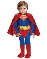 Rubies Superman Muscle Chest Toddler Costume, Size
