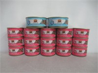 Lot of (17) Various Weruva Cat Food Tins