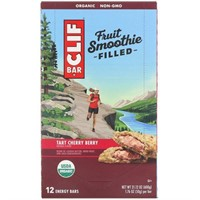 CLIF Fruit Smoothie Filled - Organic Energy Bars -