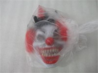 """Red Clown"" Halloween Mask"