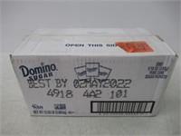Box of Domino Sugar 2000 Sugar Packets 12.5 lb