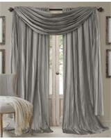 Elrene Home Fashions Venice Curtain Panels with