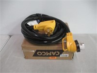 Camco 25' 25' PowerGrip Cord with 50M/50F-90