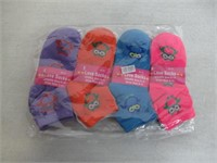 (4) 3-Pks Women's Socks Size 9-11 Socks, Multi