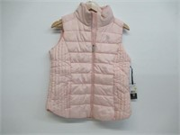 """""""As Is"""" U.S. Polo Womens M Puffer Vest - Blush"""