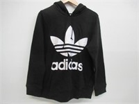 Adidas Mens LG Logo Hoodie - Black