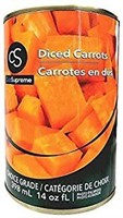 Club Supreme Canned Food - Diced Carrots 398Ml /