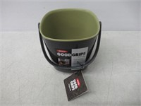 """""""As Is"""" OXO Good Grips Compost Bin, Gray"""