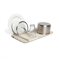 Umbra UDRY MINI Dish Drying Rack & Microfiber Dish