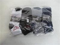 (4) 3-Pks Men's Socks Size 10-13 Socks , Multi