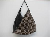 INC Blakke Woven Hobo Bag
