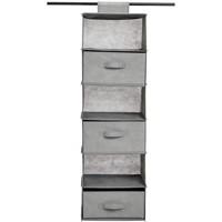 Amazon Basics Hanging Closet Shelf - 6 Tier