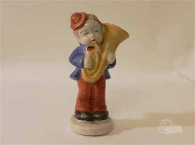 Occupied Japan Boy Wtrumpet Figurine Other Items For Sale