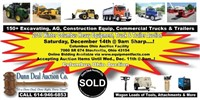 2019 Winter Columbus Heavy Equipment Truck & Trailer Auction
