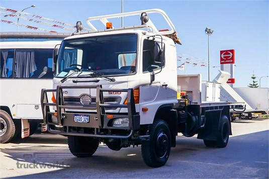 2010 Hino 500 Series WA Hino - Trucks for Sale