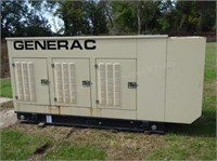 Generac natural gas powered generator